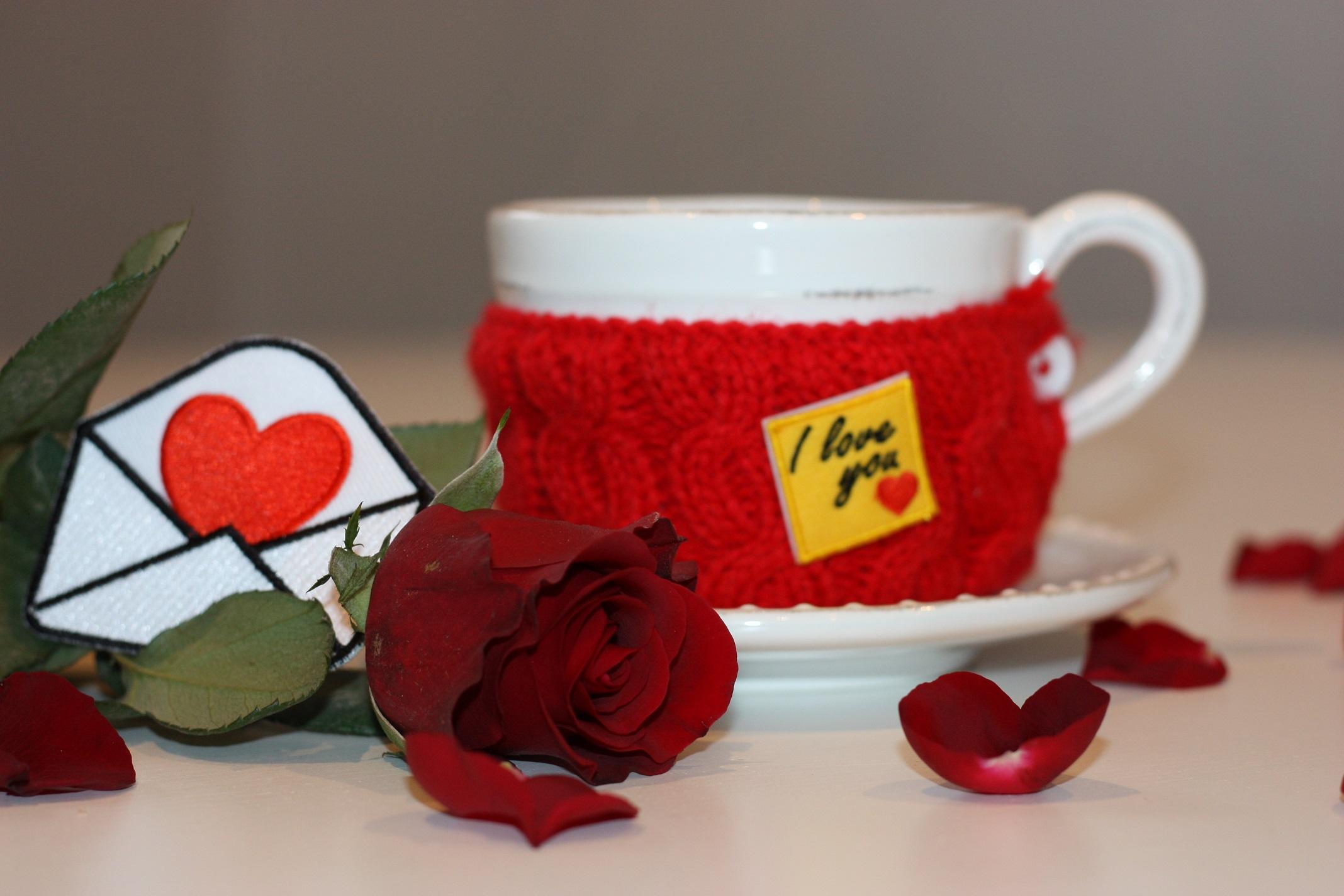 Naszywki w Walentynkowym nastroju