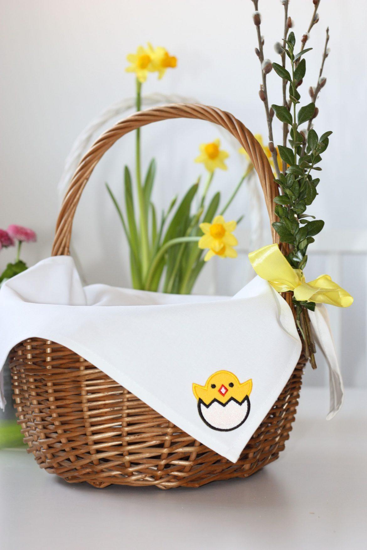 Haftowane Wielkanocne Dekoracje